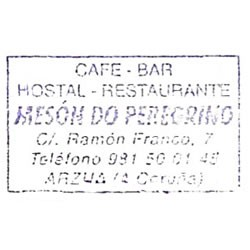 Hostal restaurante Mesón do Peregrino