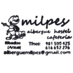 Albergue hostel cafetería Milpés